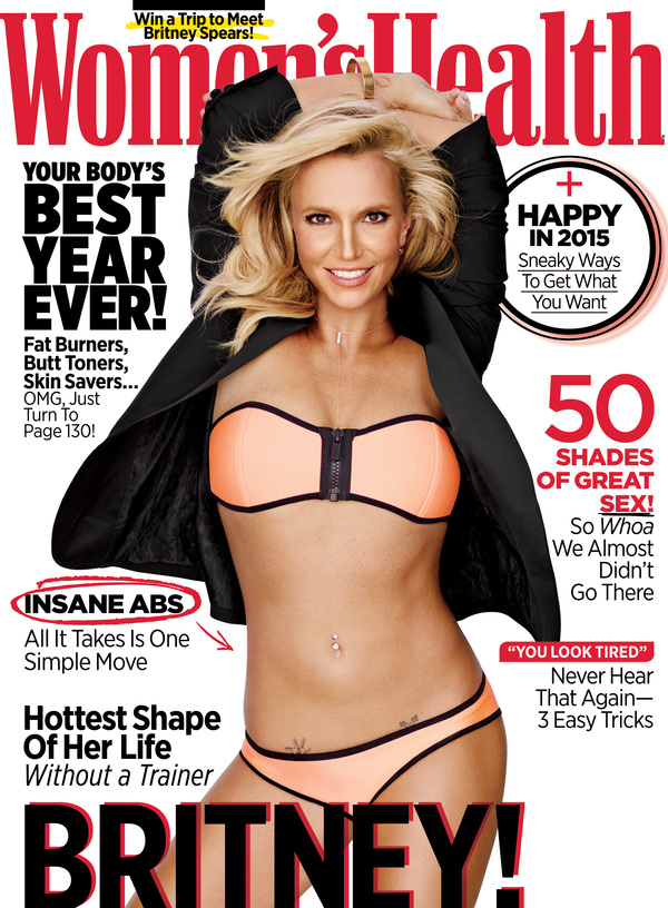 Britney On The Cover Of Women's Health Magazine