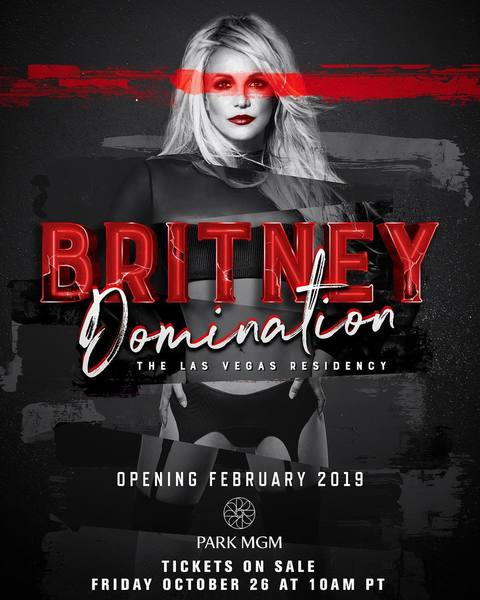 Britney Announces New Vegas Residency