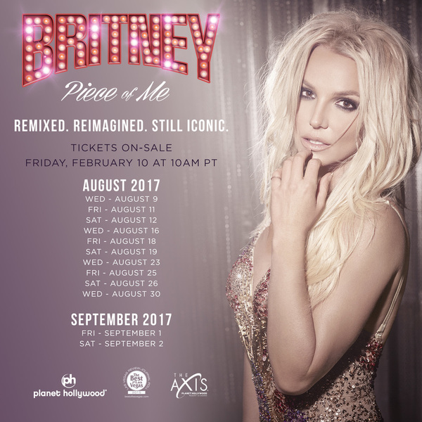 More Piece Of Me Shows Added For Fall 2017