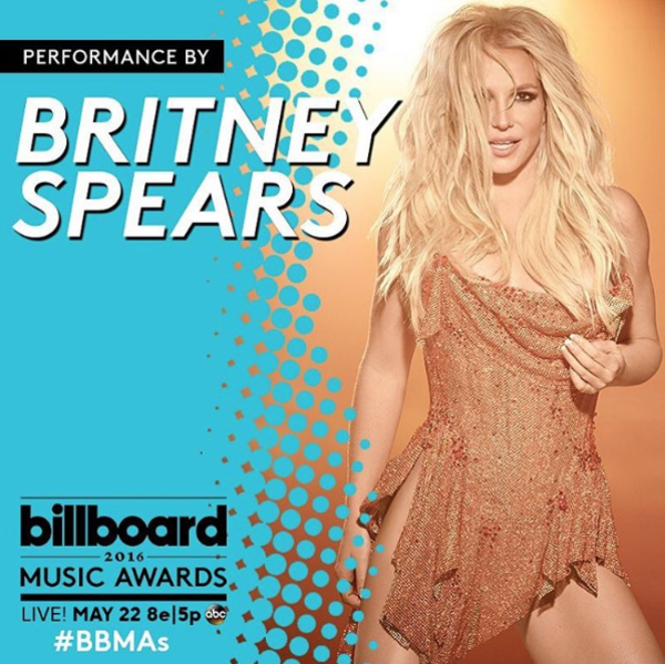 Britney's Performing at the 2016 Billboard Music Awards!