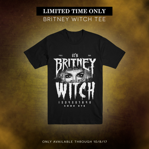 NEW 'BRITNEY WITCH' T-SHIRT