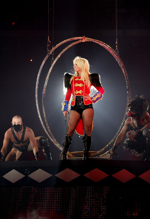 Gallery For > Britney Spears Circus Tour Poster Britney Spears Tickets