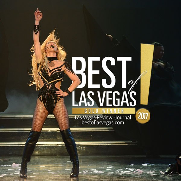 Britney Spears wins 4 Best of Las Vegas Awards for 'Piece of Me' residency