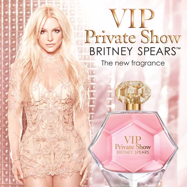 "Britney reveals new ""VIP Private Show"" fragrance"