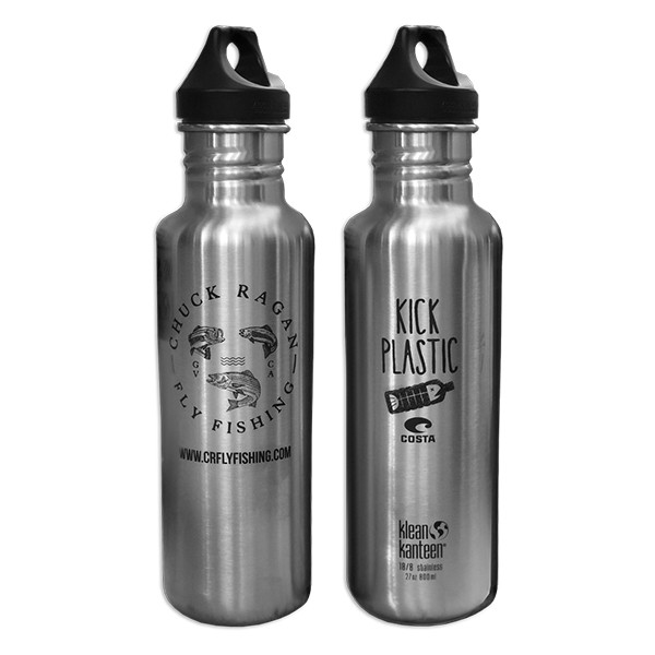 Chuck Ragan Fly Fishing x Klean Kanteen - Stainless Steel Bottle