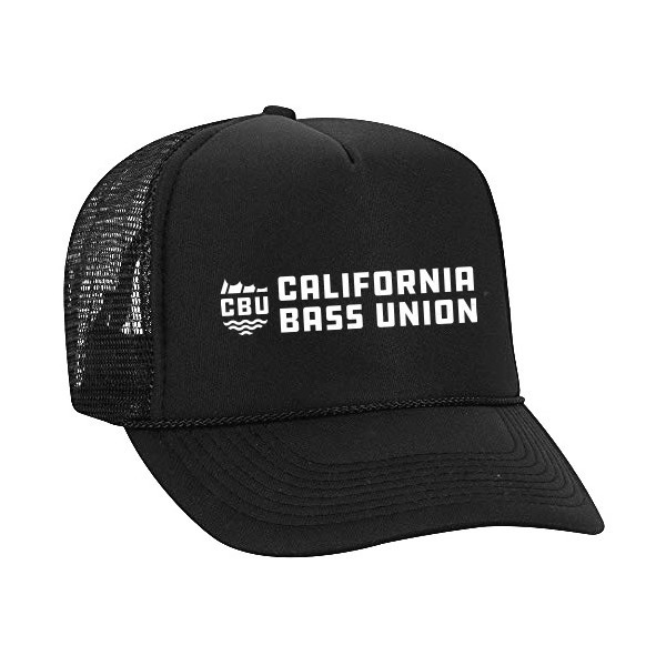 California Bass Union Mesh Trucker Hat