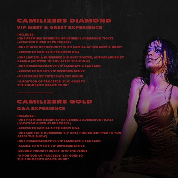 Camila cabello tickets available camila cabello m4hsunfo