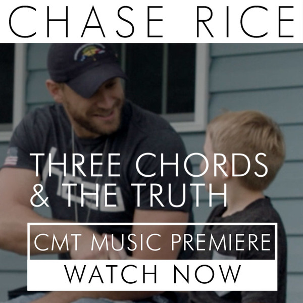 "Watch the ""Three Chords & The Truth"" video now on CMT"
