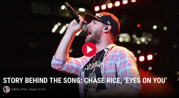 Story Behind the Song: Chase Rice, 'Eyes On You'