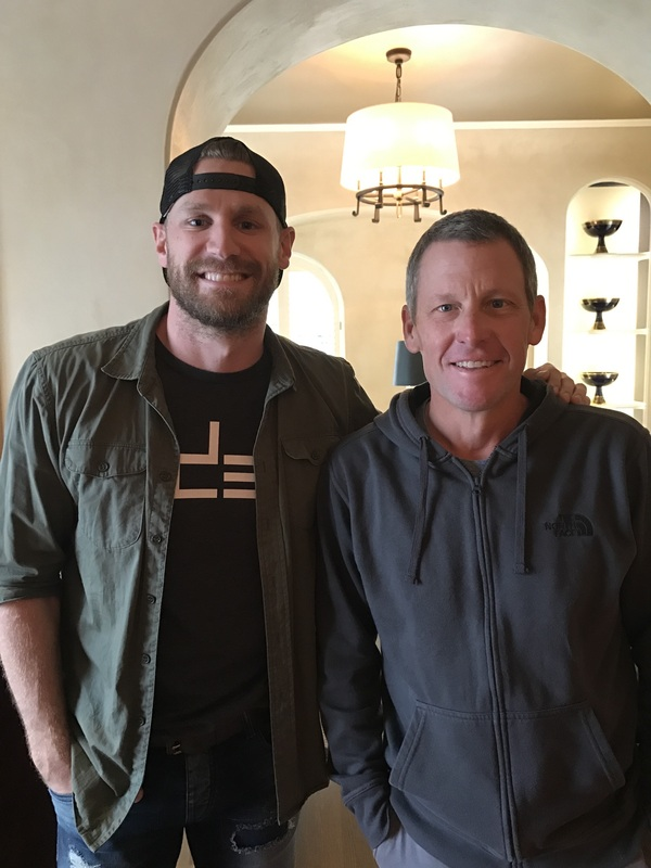 Chase Rice Goes Forward with Lance Armstrong