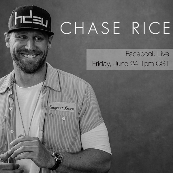 Chase on Facebook LIVE June 24 at 1PM CT