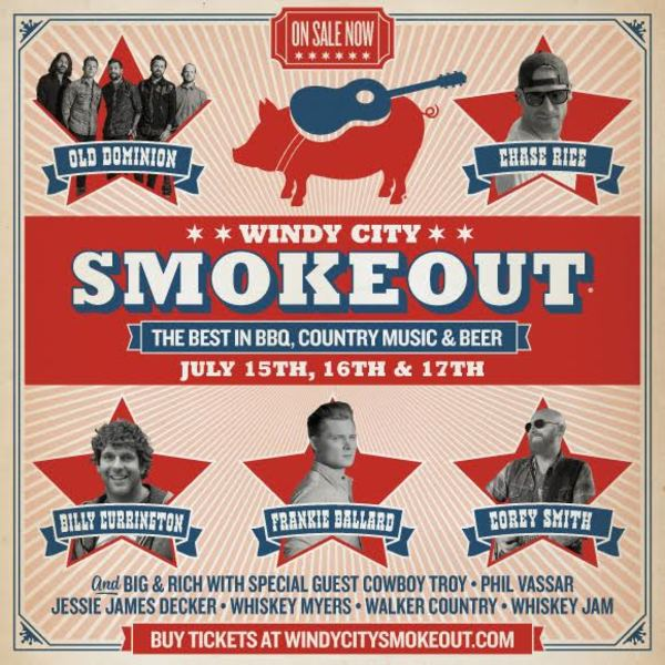 Chase Announced for Windy City Smokeout
