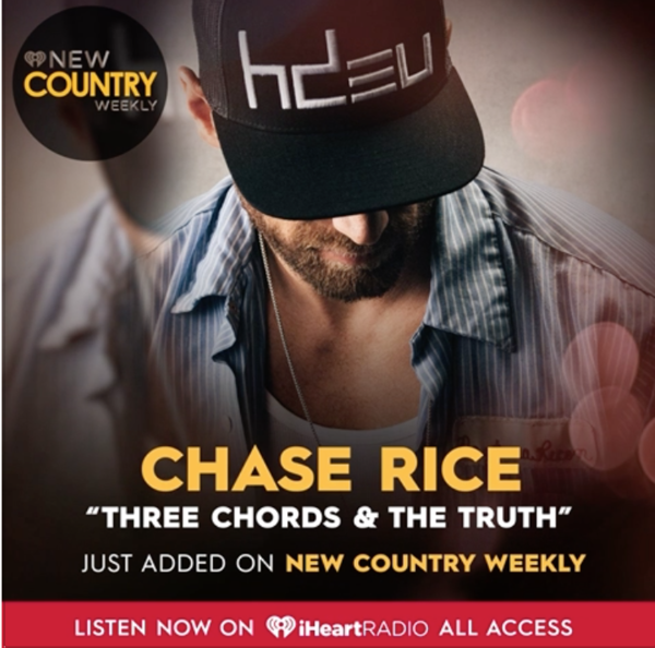 Three Chords & The Truth on Iheartradio #NewCountryWeekly playlist