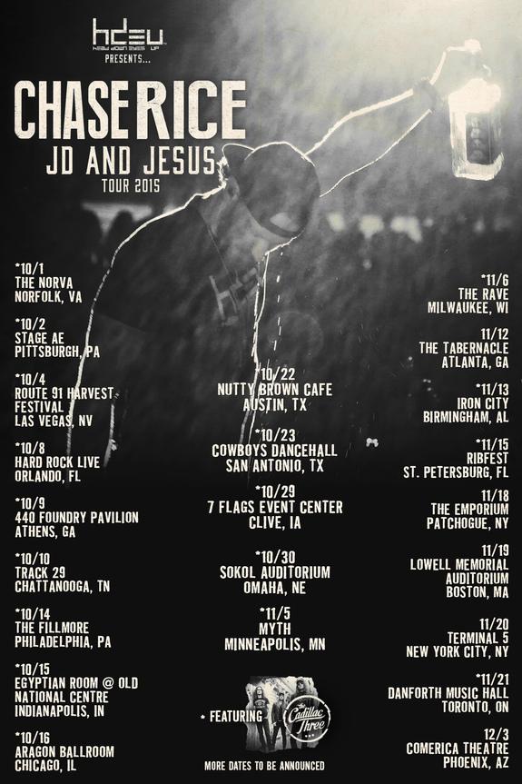 JD and Jesus Tour Dates