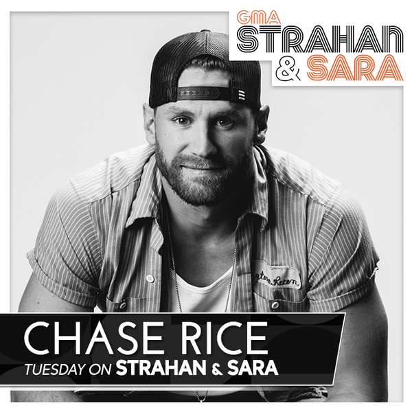 "Chase Rice Performs ""Eyes On You"" on GMA's ""Strahan & Sara"" Tuesday, February 26"