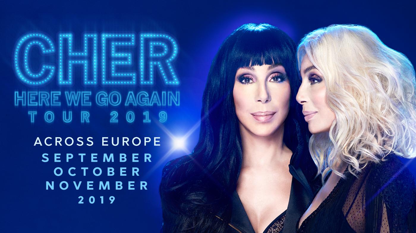 c00b828b Here We Go Again Europe. Classic Cher Park MGM Vegas