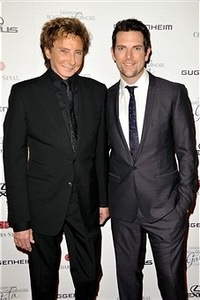 Barry Manilow and Chris