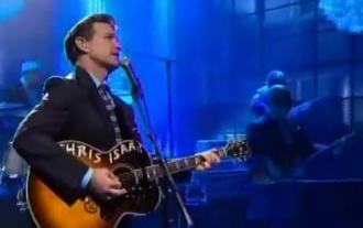 Chris Isaak on The Tonight Show