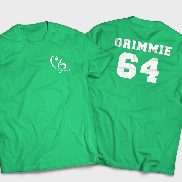Grimmie Forever/Team Grimmie Green Shirt