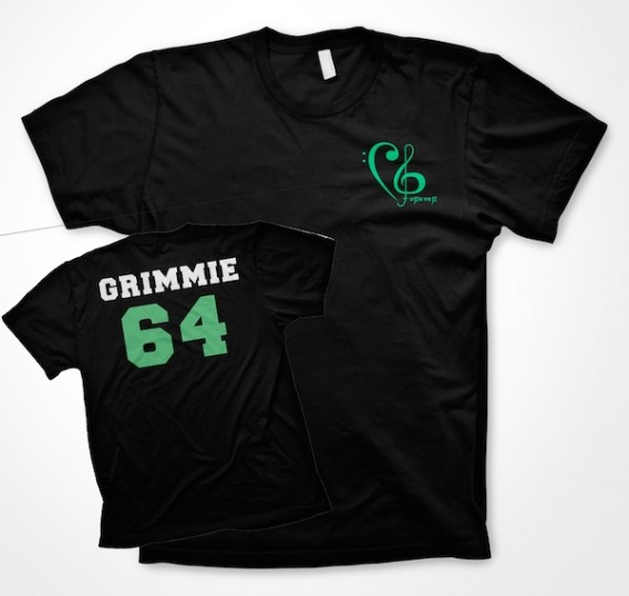 Grimmie Forever/Team Grimmie Black Shirt