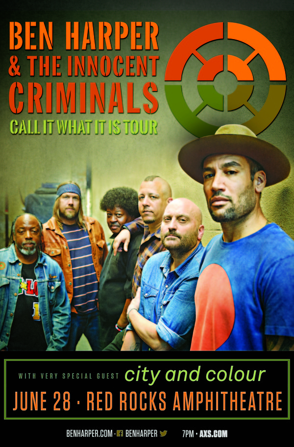 Playing Red Rocks with Ben Harper and the Innocent Criminals