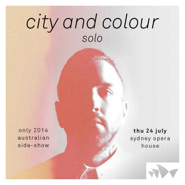 SHOW ANNOUNCE: Sydney Opera House - SOLO Performance