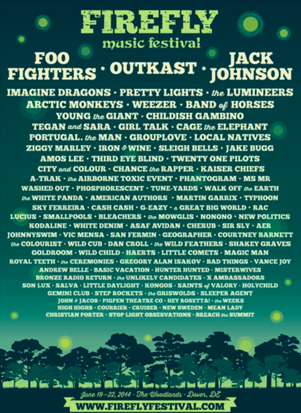 Firefly Festival Announcement