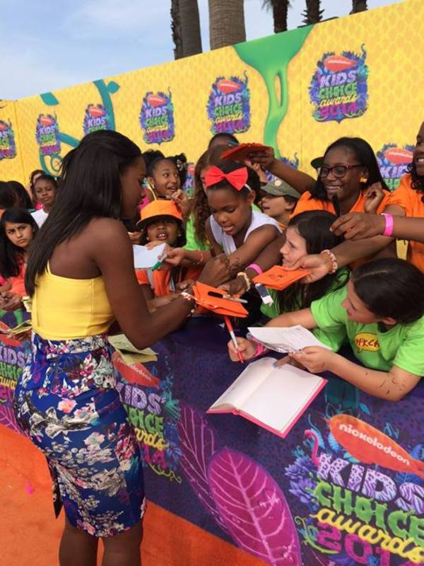 Coco Jones @ 2014 Kids' Choice Awards