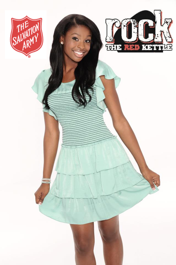 "Coco Jones to Perform at Salvation Army's ""Rock The Red Kettle"""