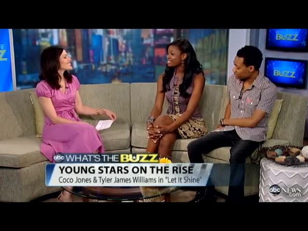 Young Disney Channel Stars 'Let It Shine'