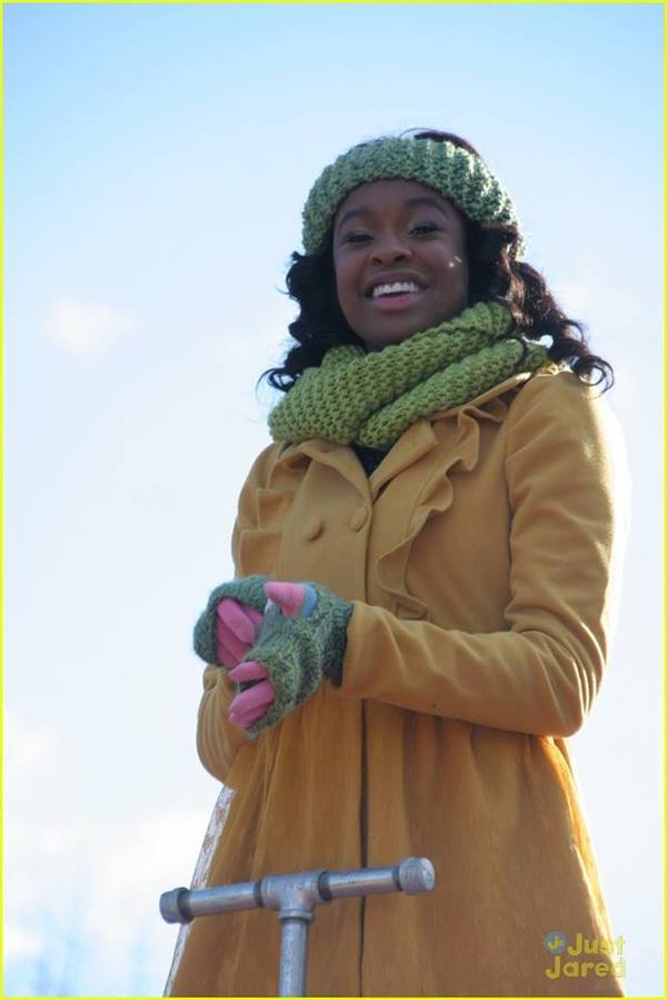 Coco Jones in Just Jared Jr.