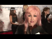 Cyndi Lauper Gets Inducted Into The Songwriters Hall Of Fame