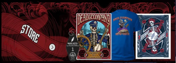 Dead and Company Merch