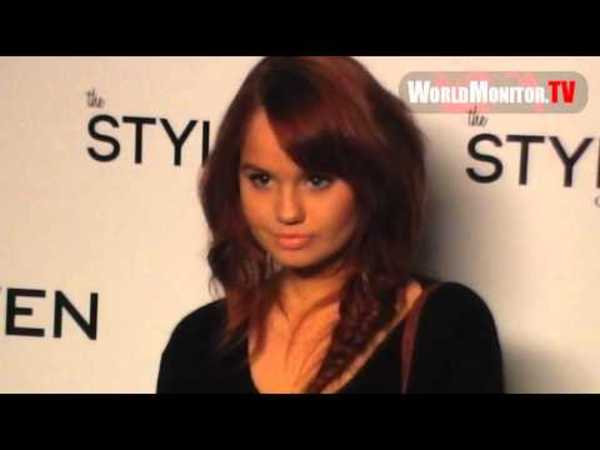 Debby Ryan attends Naven Spring 2013 Collection fashion show at LA Fashion Week