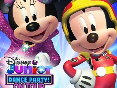 'Disney Junior Dance Party' brings beloved characters to Comerica Theatre on Thursday