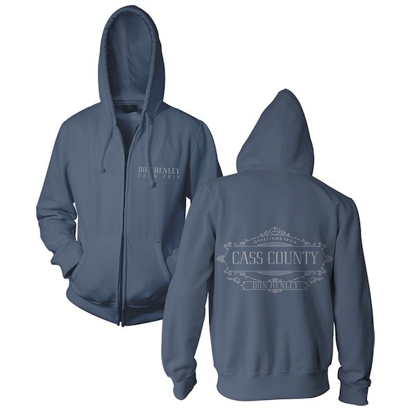 Greetings From Cass County Zip Hoodie image