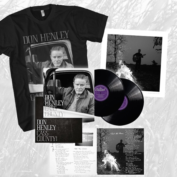 Cass County Deluxe 2 Disc 180 Gram Vinyl + T-Shirt + Lithograph Bundle