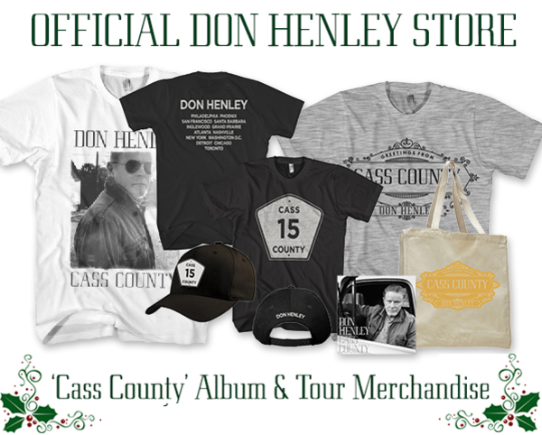 15-20% Off Don Henley 'Cass County' Album & Merchandise