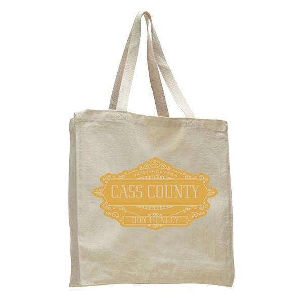 Greetings From Cass County Tote Bag
