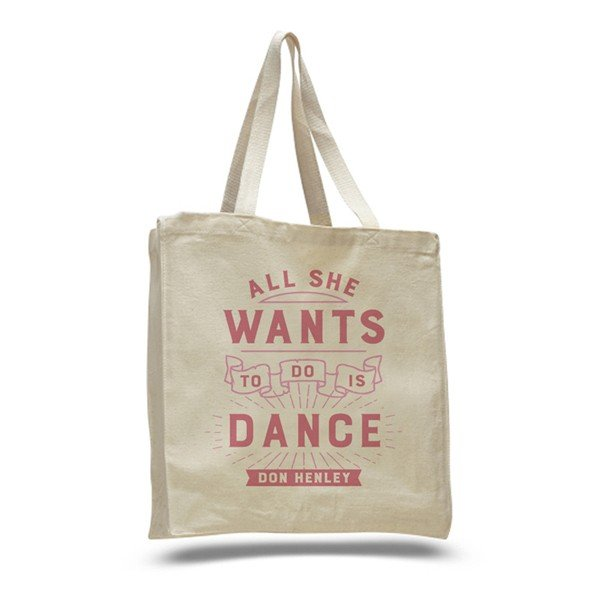 2016 All She Wants To Do Is Dance Tote Bag