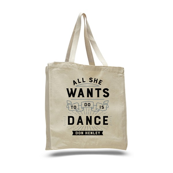 All She Wants To Do Is Dance Tote Bag