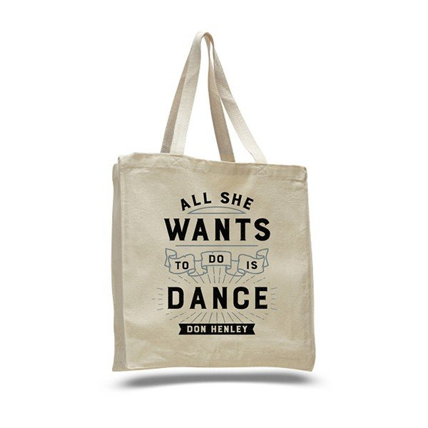 2017 All She Wants To Do Is Dance Tote Bag image