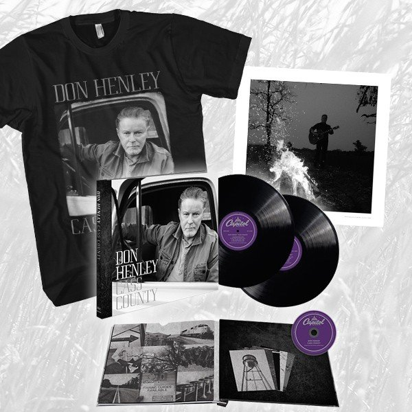 Cass County Super Deluxe Vinyl Book + T-Shirt + Lithograph Bundle image