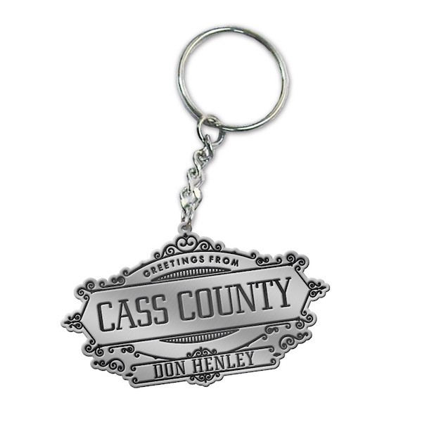 Greetings From Cass County Keychain