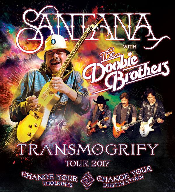 SANTANA LIVE... Santana Tour 2017