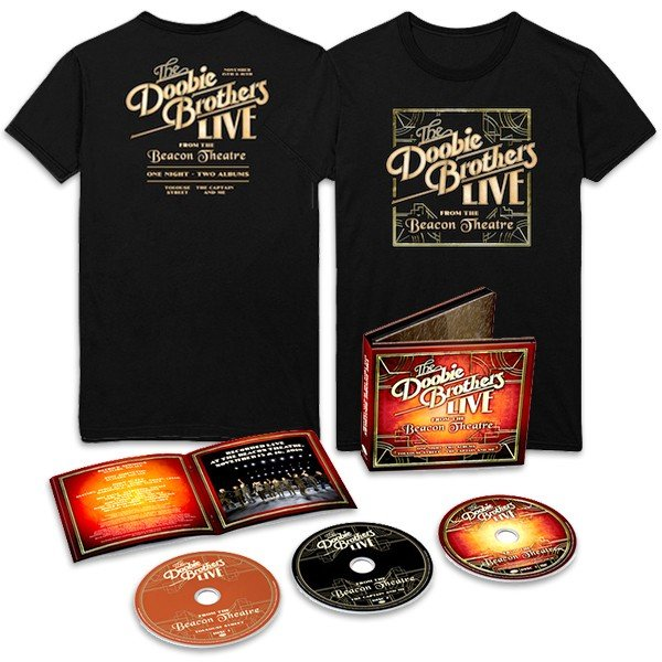 Live from the Beacon Theatre 2CD + DVD + T-Shirt Bundle