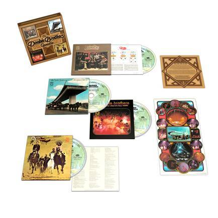 THE DOOBIE BROTHERS: QUADIO Box Set Coming September 4