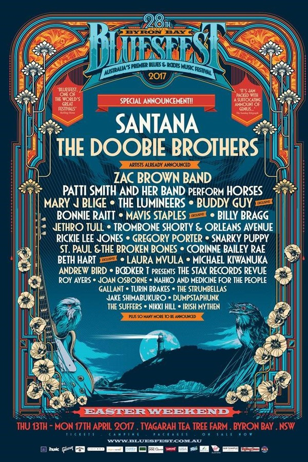 Byron Bay Bluesfest 2017