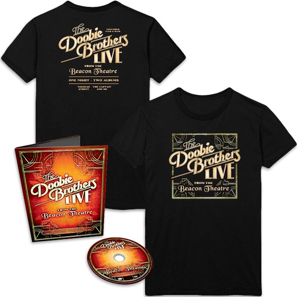 Live from the Beacon Theatre Blu Ray + T-Shirt Bundle image