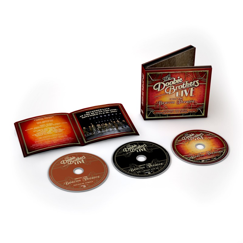 Live from the Beacon Theatre 2CD + DVD image